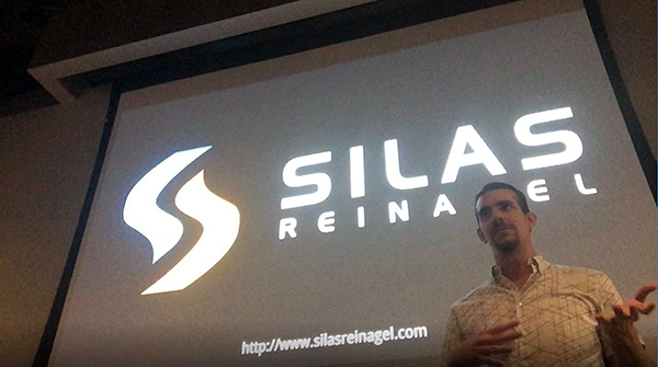 Silas Reinagel Giving a Live Software Talk
